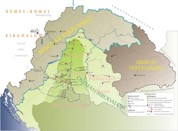 Magyarország a török hódoltság idején